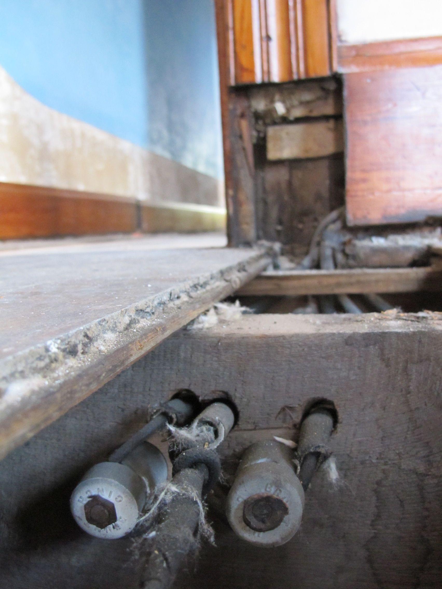 Insulation between the floors   5K in Cincinnati