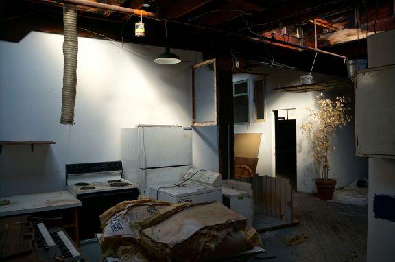 Abandoned studio